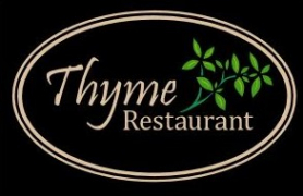Thyme Logo all black
